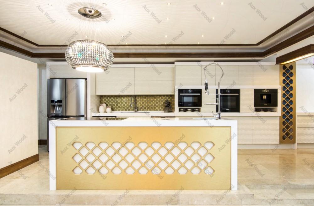 کابینت آَشپزخانه مدرن بدون دستگیره ایرانی