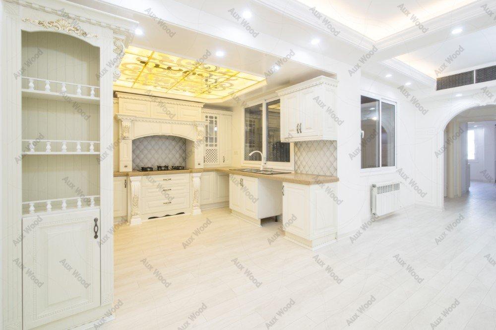 کابینت آشپزخانه ایرانی سفید