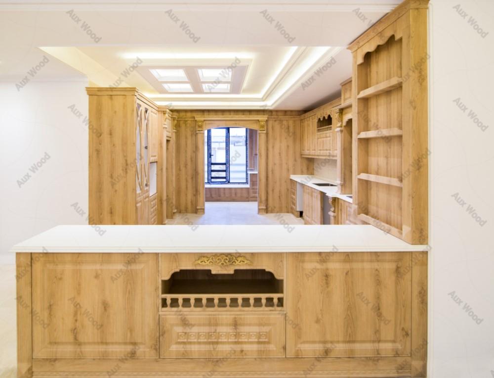 چیدمان آشپزخانه کوچک ایرانی برای آشپزخانه های با سقف کوتا