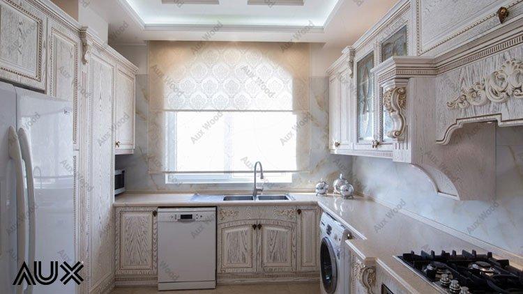 کابینت وکیوم آشپزخانه مدل سفید