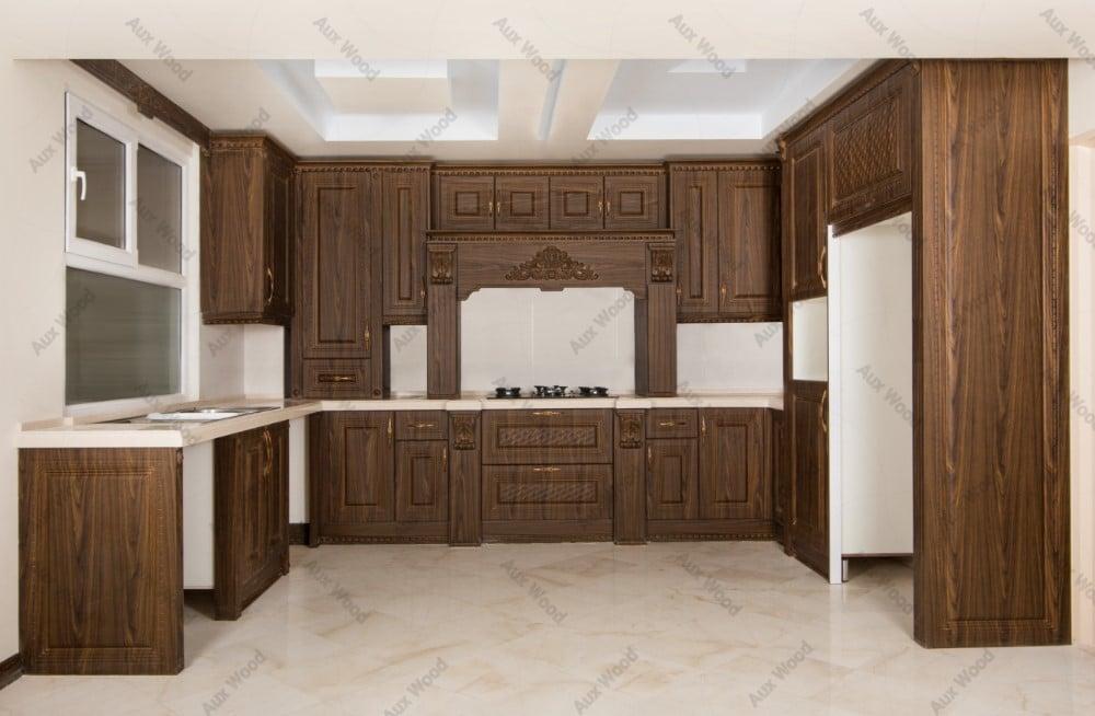 طراحی زیبا و شیک کابینت آشپزخانه ممبران