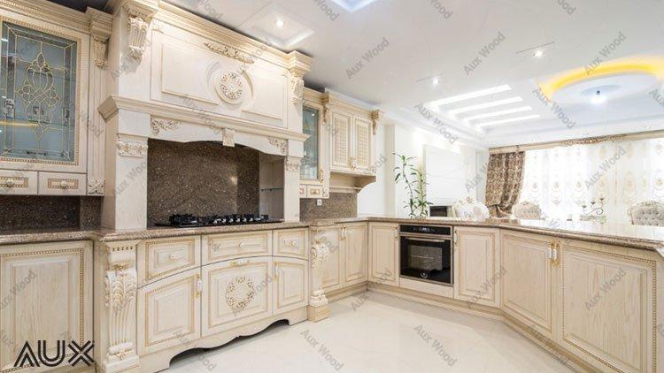 کابینت وکیوم آشپزخانه به رنگ سفید