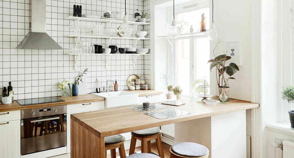 مزایا کابینت ام دی اف در آشپزخانه کوچک
