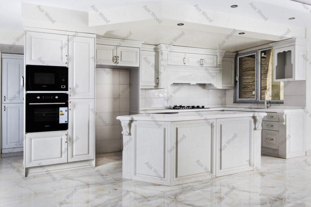 ست شدن کابینت آشپزخانه انزو با کف و سقف آشپزخانه