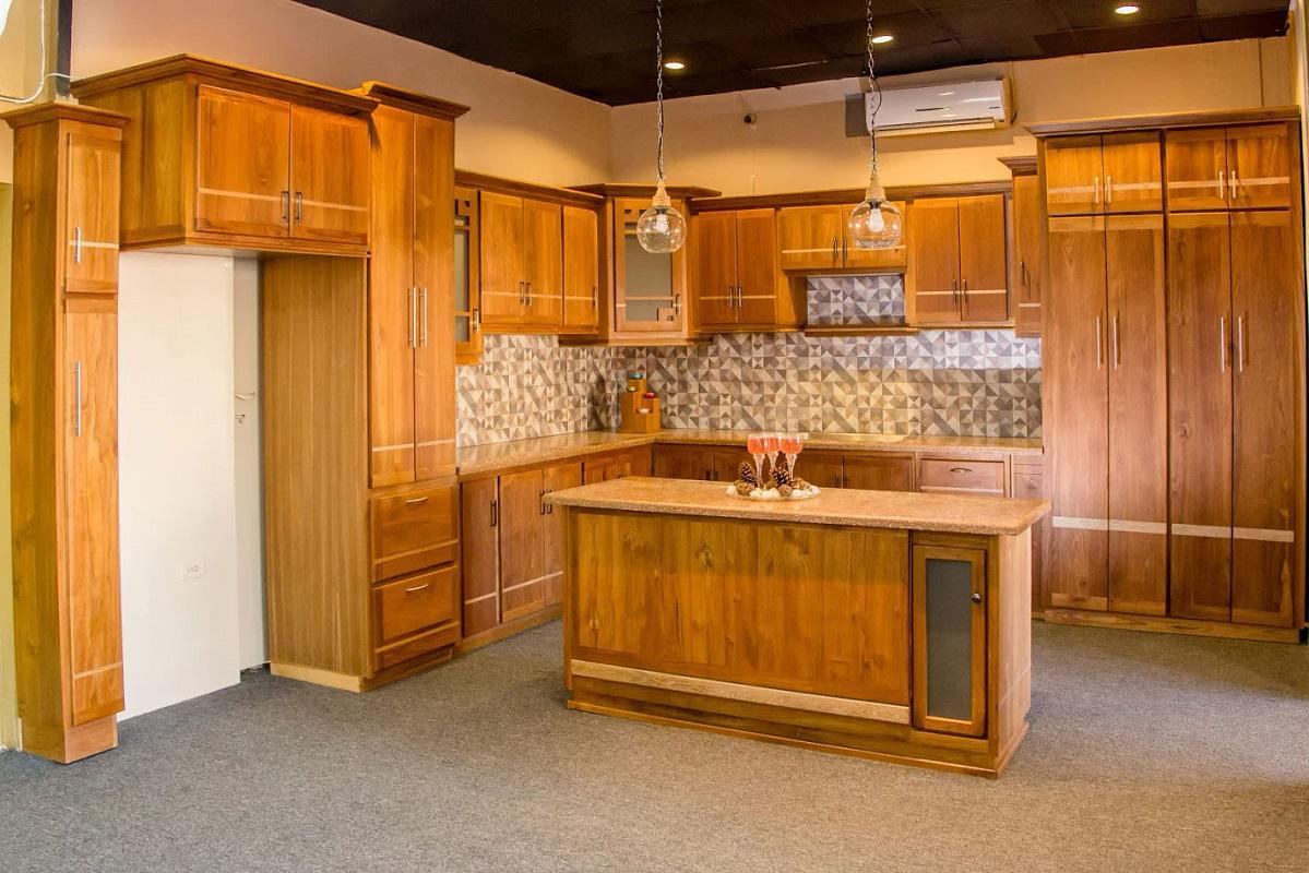 انتخاب کابینت آشپزخانه روکش چوب
