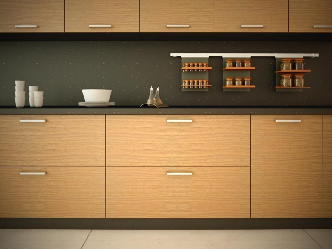 مزایا و معایب در کابینت آشپزخانه روکش چوب مصنوعی