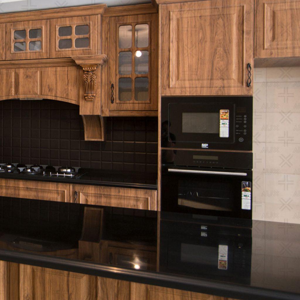 کابینت آشپزخانه مدرن؛ ترکیبی از تقارن و سادگی
