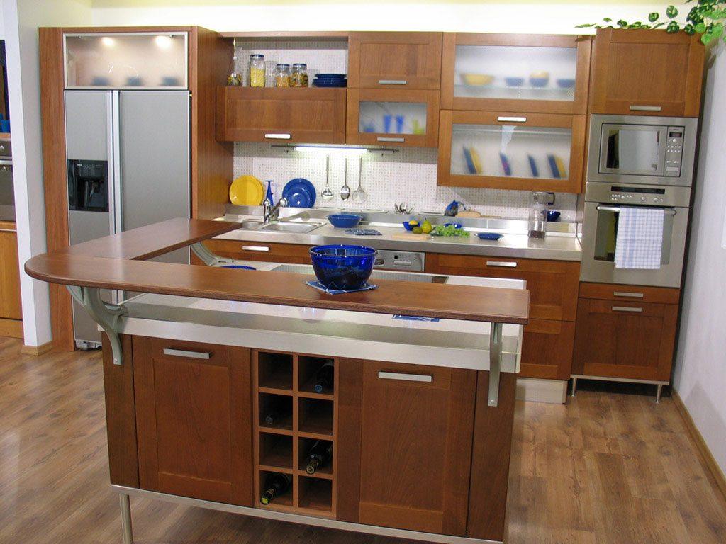 کابینت آشپزخانه مدرن برای فضاهای کوچک