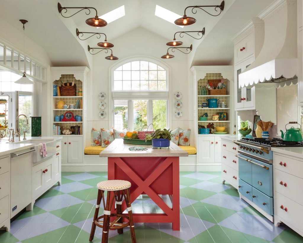 کف پوش مناسب برای دکوراسیون آشپزخانه