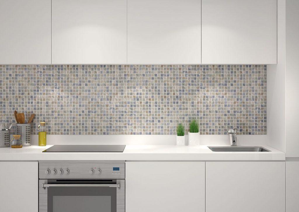 کاشی های رنگی در دکوراسیون آشپزخانه
