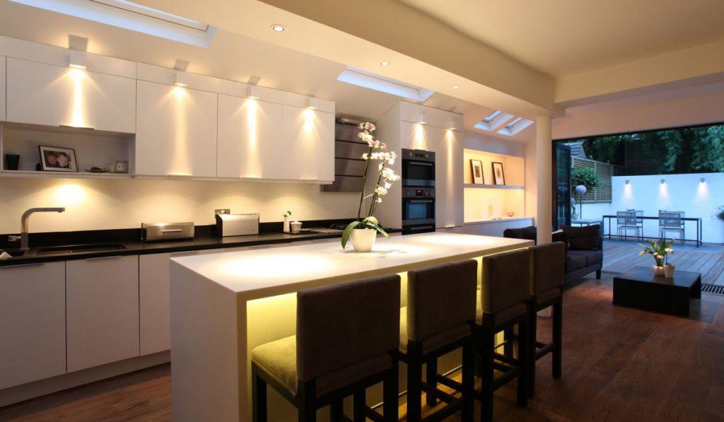 دکوراسیون آشپزخانه و نورپردازی آن