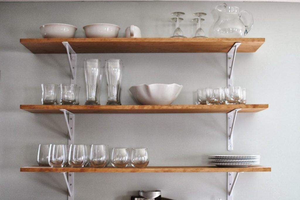 قفسه چوبی ترند طراحی آشپزخانه 2019