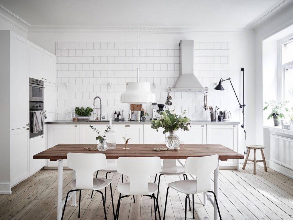 کابینت آشپزخانه کوچک ایرانی سفید رنگ
