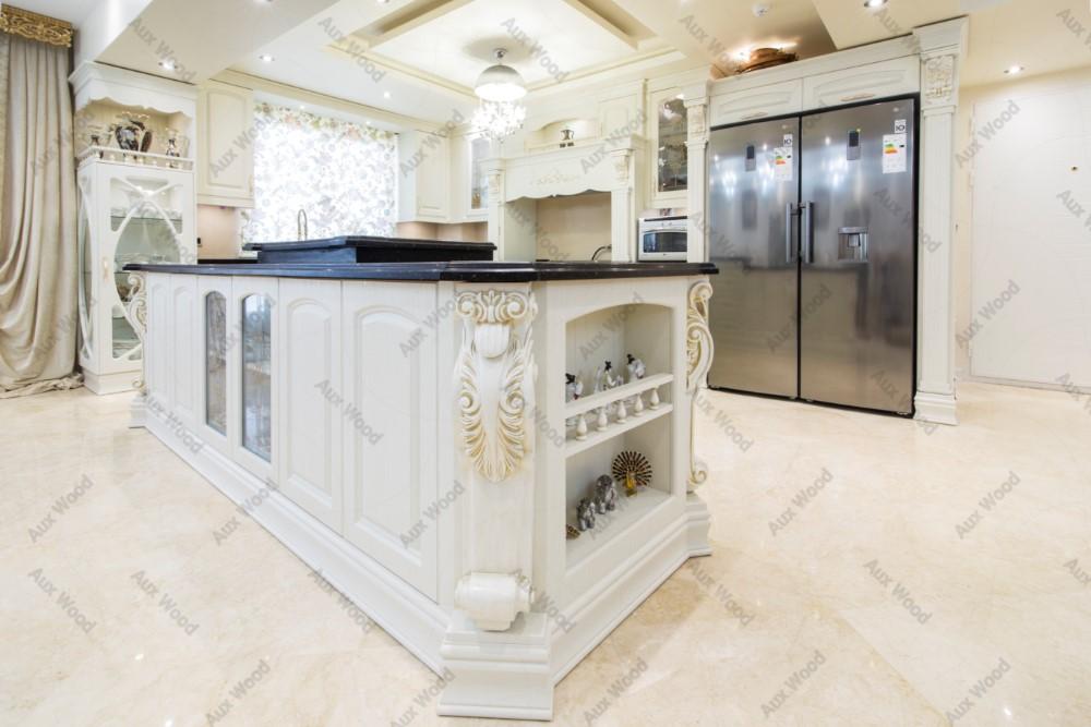 کابینت آشپزخانه سلطنتی سفید رنگ