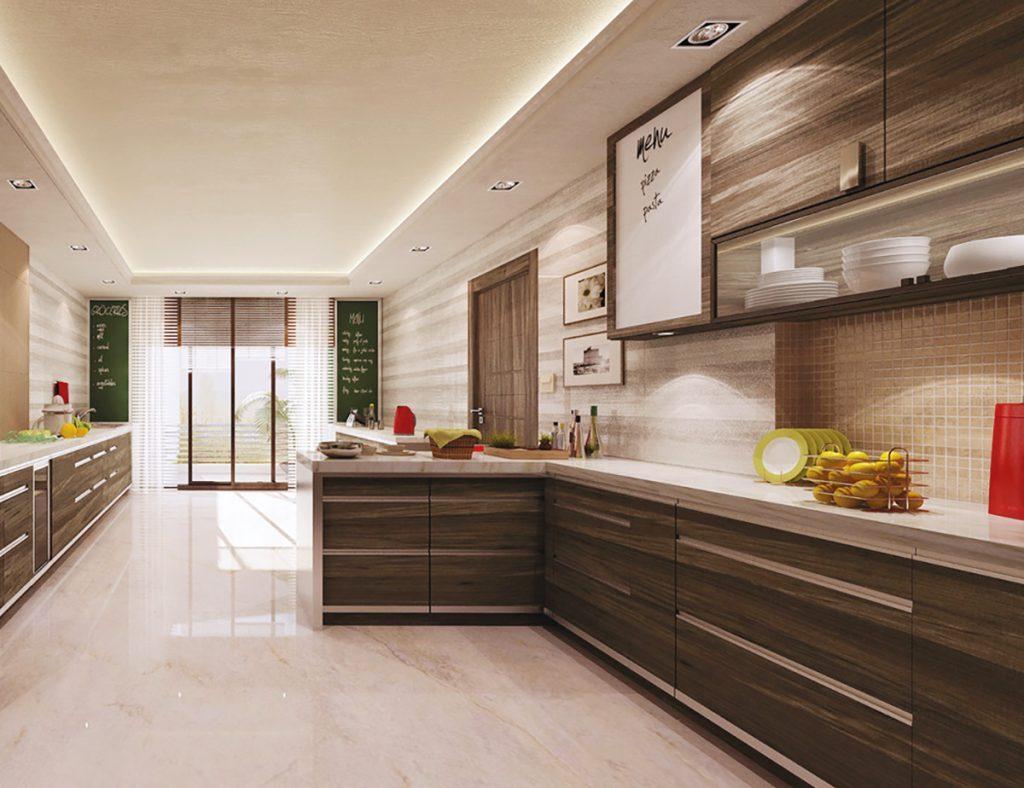 رنگ بندی و تنوع کابینت آشپزخانه اچ پی ال