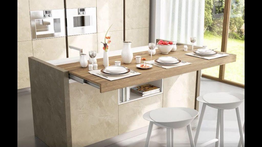 میزهای کشویی روش مناسب سازماندهی آشپزخانه های کوچک