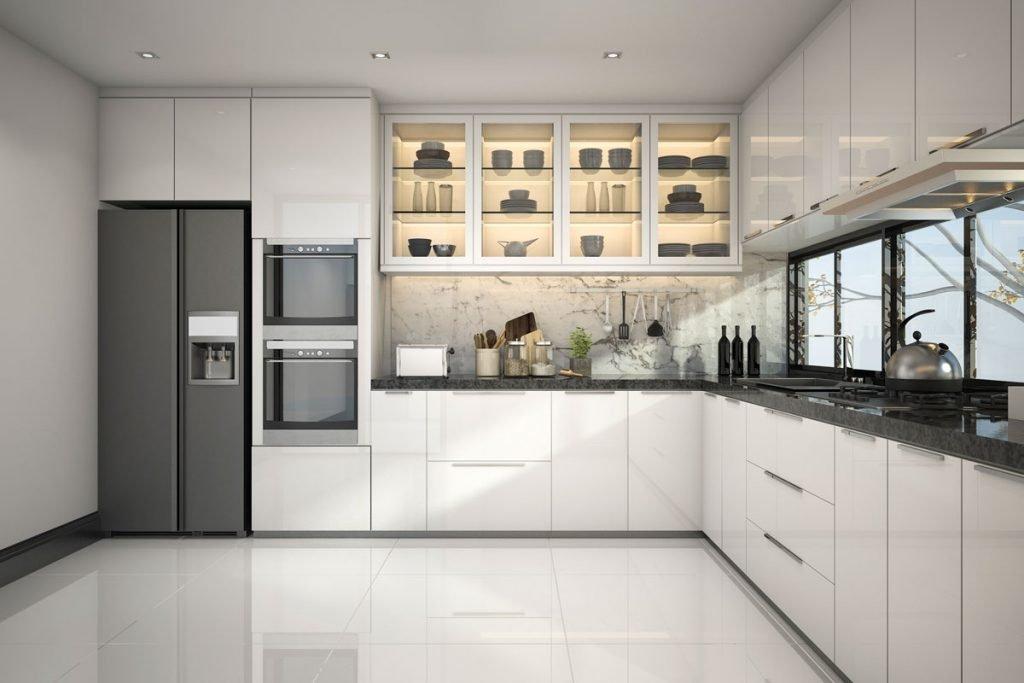 سازماندهی لوازم در آشپزخانه با یخچال تو کار