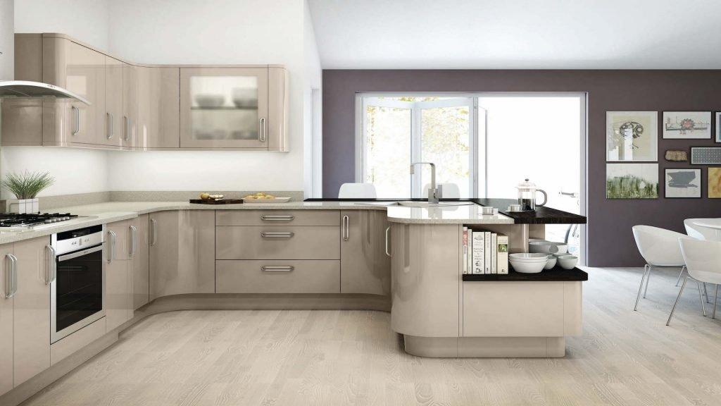 اصول طراحی کابینت آشپزخانه هایگلاس