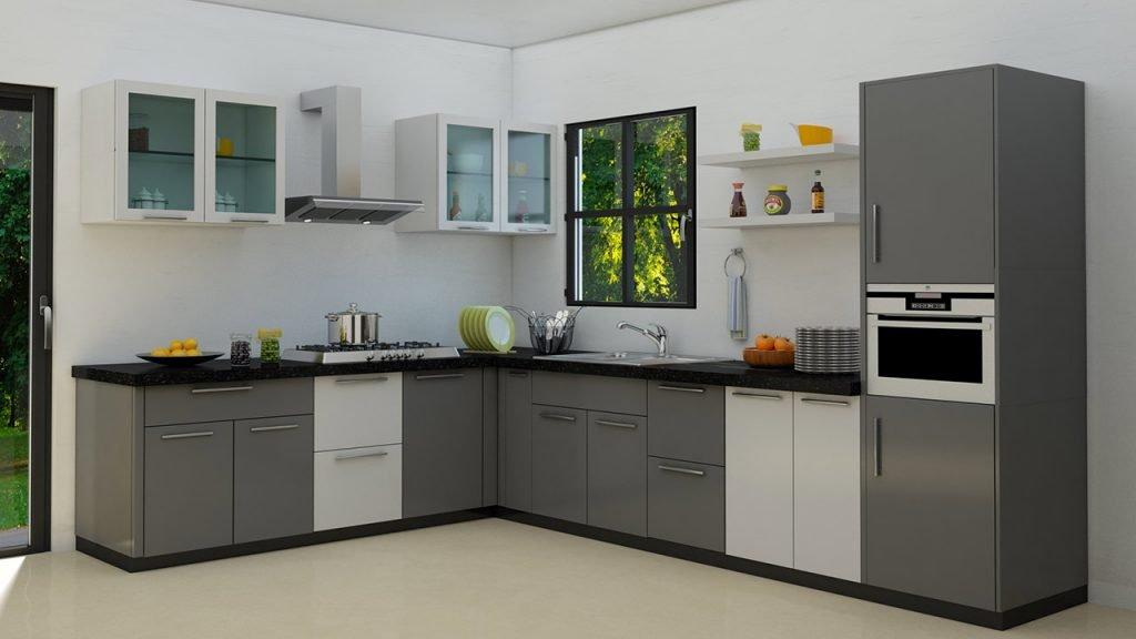 مناسب ترین جنس کابینت آشپزخانه میتواند pvc باشد