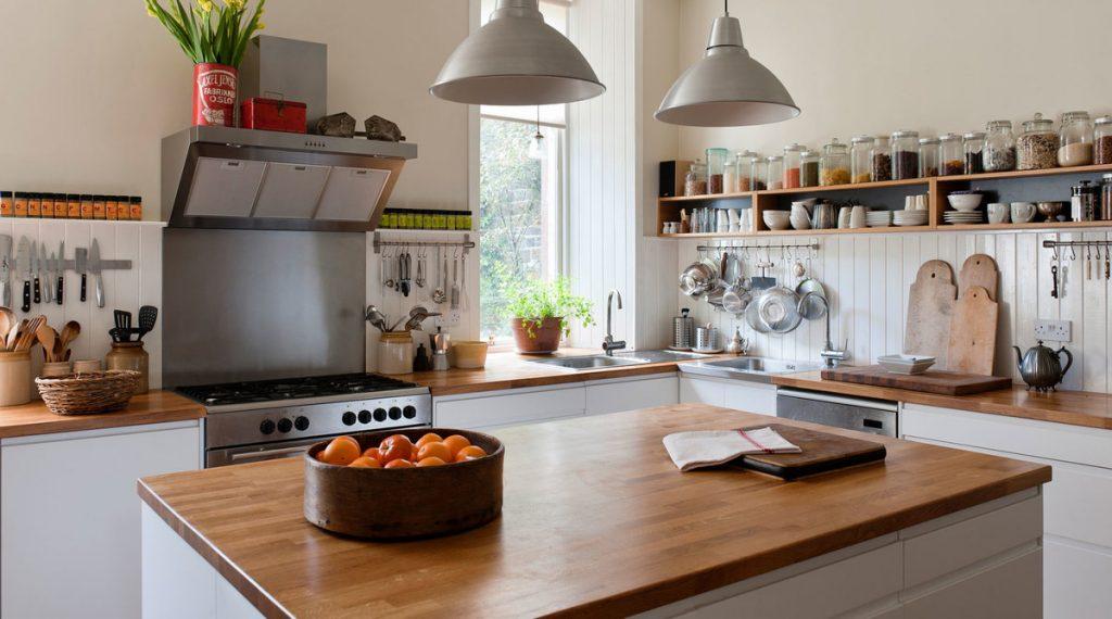 پیشخوان  از اجزای اصلی کابینت آشپزخانه