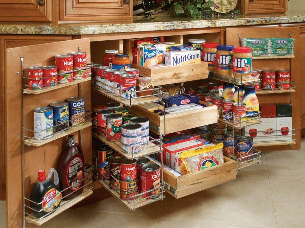 فضاسازی سوپر کابینت های آشپزخانه