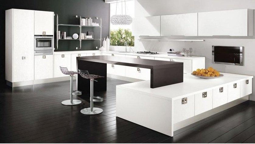 کابینت مدرن ایتالیایی سفید رنگ