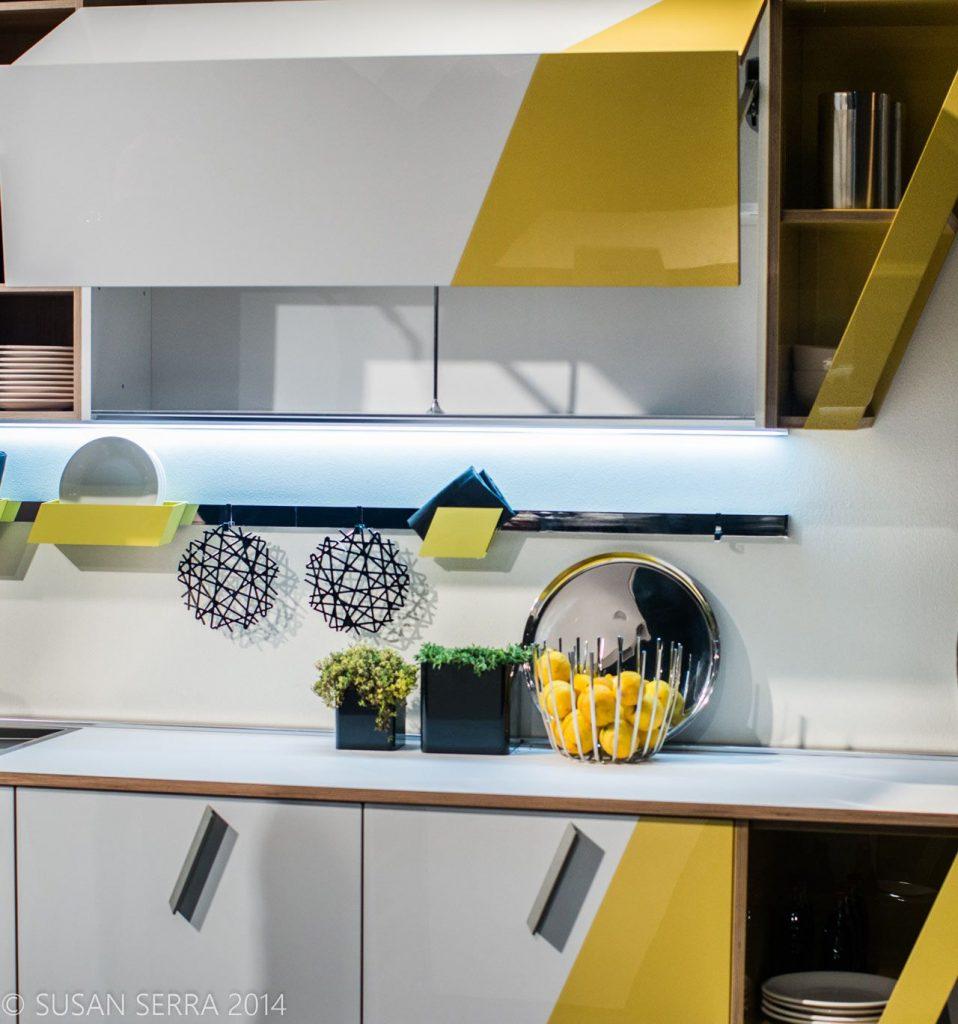 استفاده از رنگ های مکمل در آشپزخانه