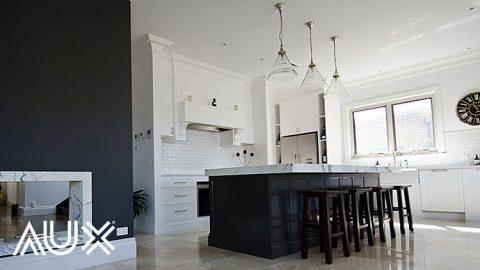 تغییر دکور آشپزخانه به سبک نئوکلاسیک