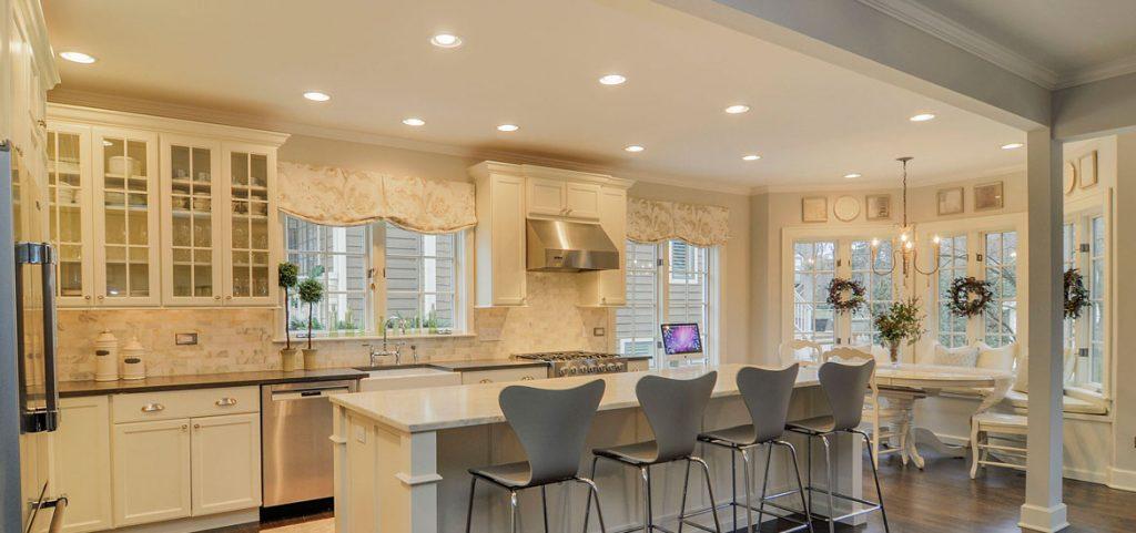 شیوه صحیح نورپردازی در آشپزخانه