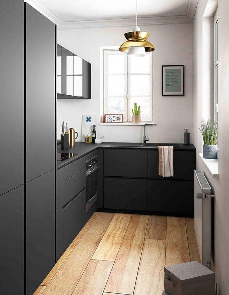 بهترین رنگ کابینت برای آشپزخانه کوچک