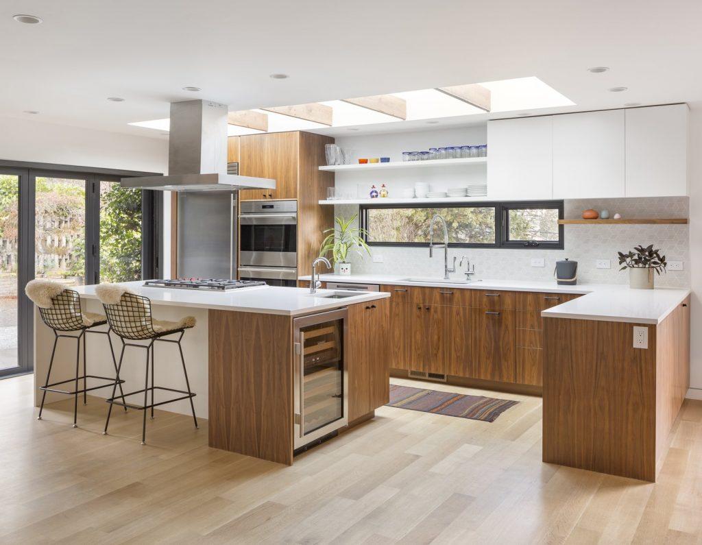 استفاده از المانهای ساده در آشپزخانه مدرن
