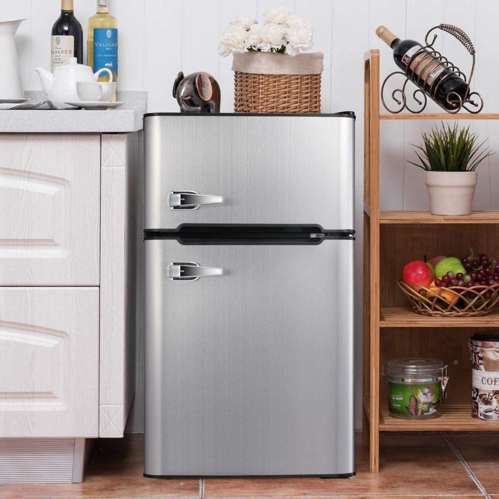 جای مناسب یخچال کوچک در آشپزخانه
