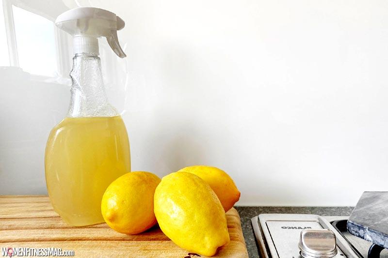 از لیمو برای پاک کردن چربی آشپزخانه میتوان استفاده کرد