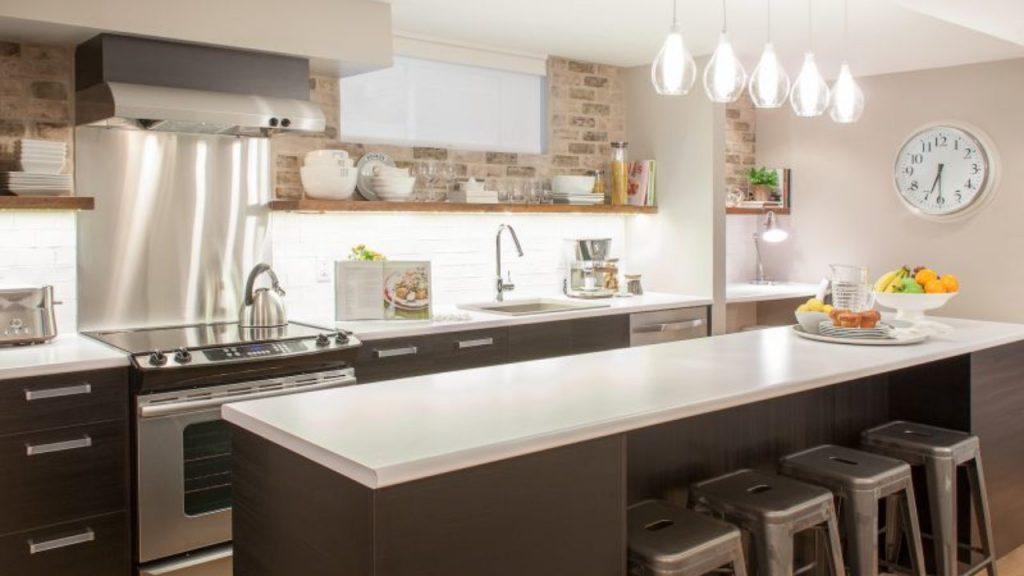 نورپردازی  در انواع آشپزخانه