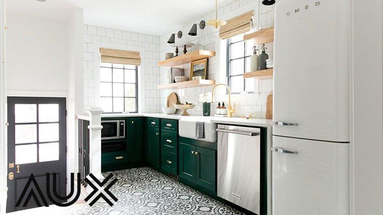 مدل کابینت آشپزخانه ال مانند