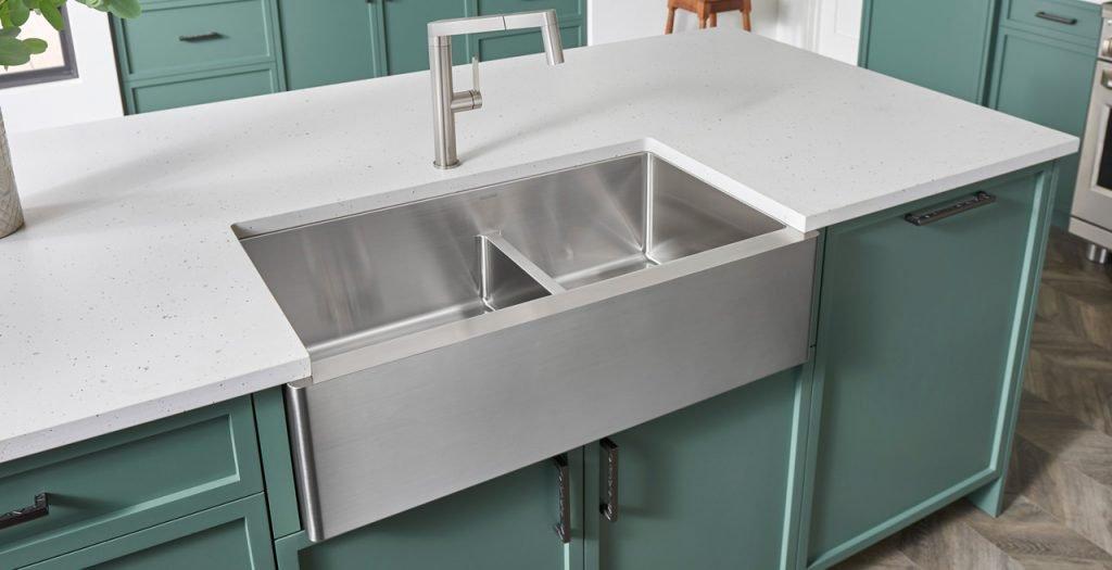 جای سینک ظرفشویی در جزیره آشپزخانه