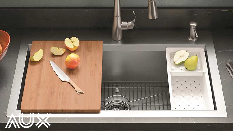 جای سینک ظرفشویی در آشپزخانه