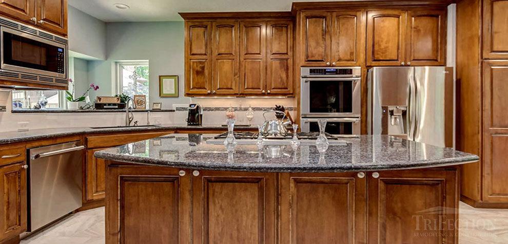 مدل کابینت آشپزخانه چوبی