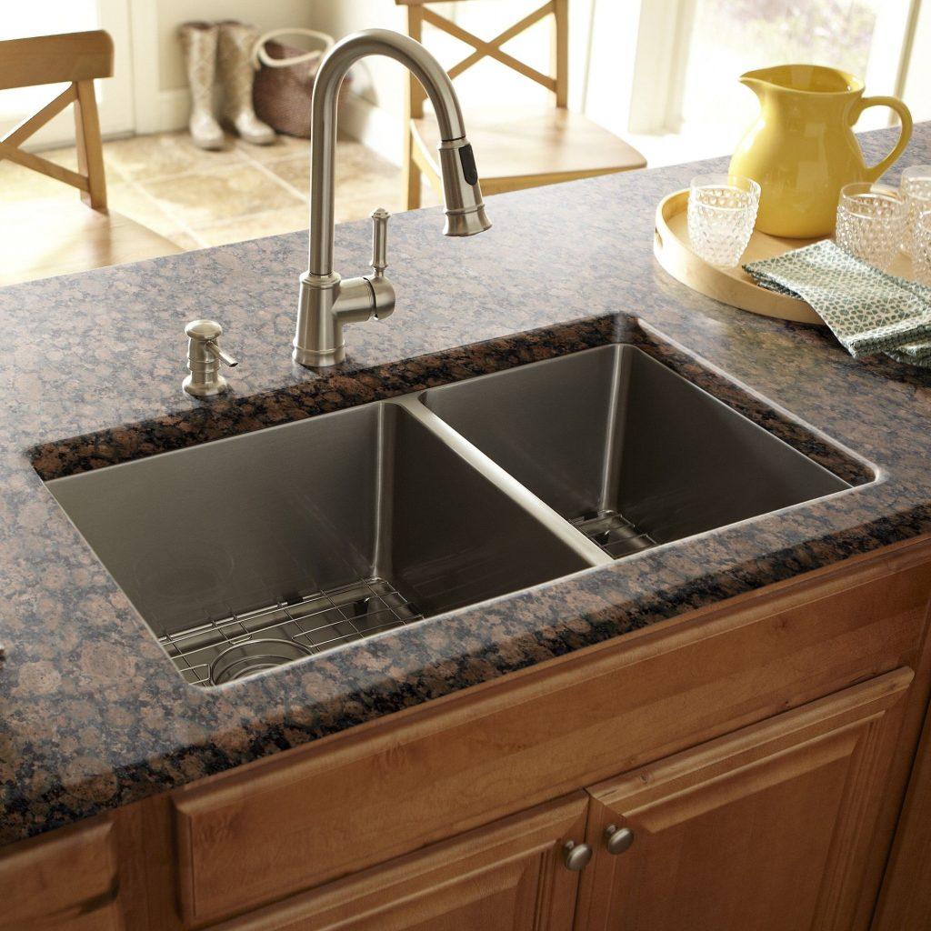 چیدمان استاندارد سینک در آشپزخانه