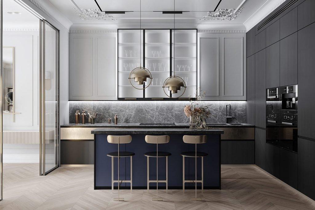 طراحی کابینت آشپزخانه
