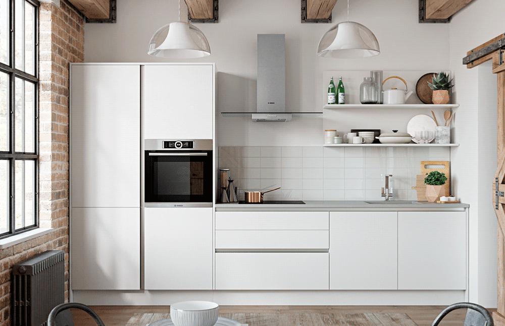 کابینت آشپزخانه کوچک اما مدرن