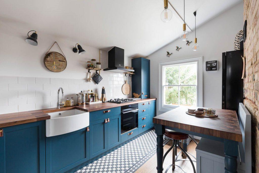 تمیزکردن کابینت آشپزخانه برای همه ی کابینت ها