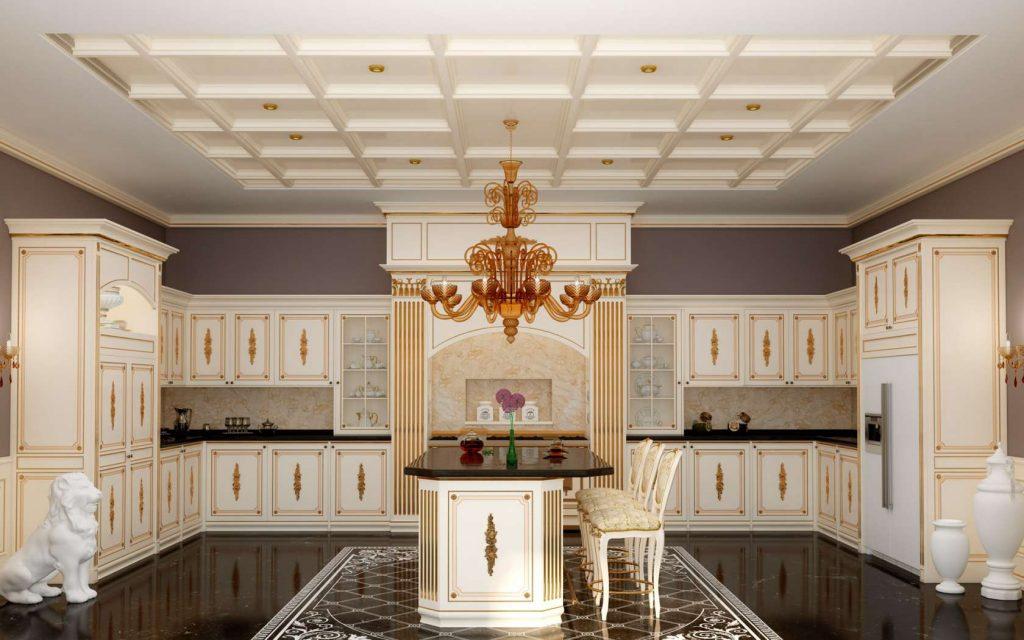 آشپزخانه کلاسیک لوکس