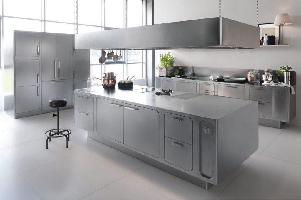 کابینت استیل در آشپزخانه های مدرن