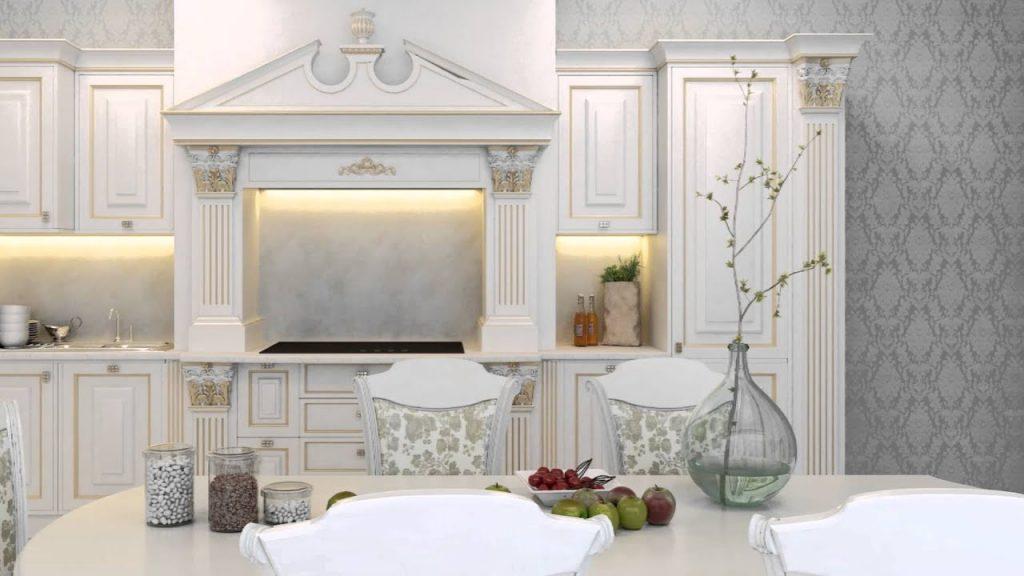 چگونه در آشپزخانه کابینت کلاسیک لوکس و فاخر داشته باشیم؟