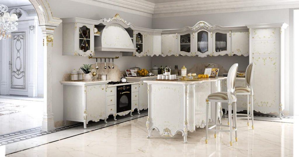 ویژگیهای آشپزخانههای کلاسیک