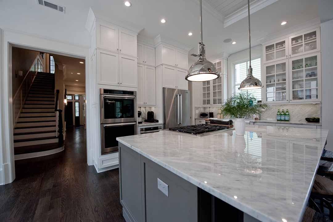 انتخاب رنگ کابینت آشپزخانه نئوکلاسیک