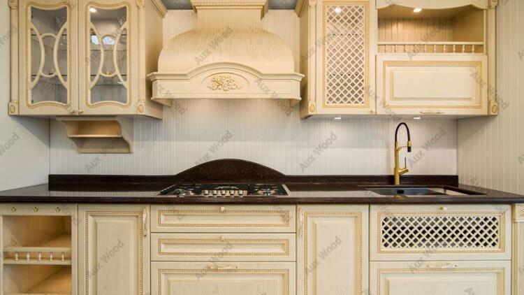 کابینت آشپزخانه ممبران با صفحه قهوه ای
